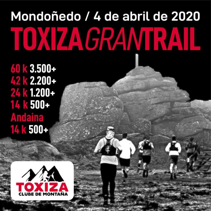 A Toxiza Gran Trail xa ten data para o 2020